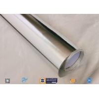 Cheap Laminated Aluminium Foil Fiberglass Cloth 97% Heat Reflect 300℃ Non Combustible wholesale