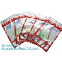 Cheap Coin Bank Safety Deposit Security Bag / Evident Proof Plastic Coin Security Sealing Bag wholesale