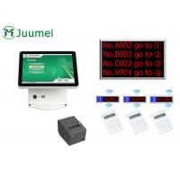 Cheap Manual Queue Management System Steel Cabinet With Touch Screen wholesale