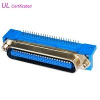 Cheap Male Centronic R/A PCB Connector 14pin 24pin 36pin 50pin with Hex Screws wholesale