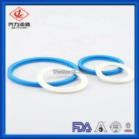 Cheap Industrial Flexible  Sanitary Clamp Gaskets 63mm Durable Long Working Life wholesale