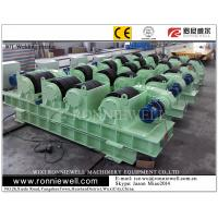 PU Wheels Pipe Rotators for Welding , Wind Tower Welding Pressure Vessels