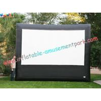 Cheap Advertising giant Inflatable Movie Screen, outdoor projection movie screenings for disply wholesale