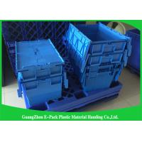 Customized Nestable PP Plastic Attached Lid Containers Food Grade