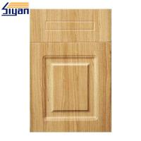 Buy cheap PVC Film Pressed MDF Cabinet For Vinyl Wrapped Kitchen Doors Reviews from wholesalers