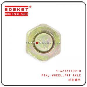 Cheap 1-42331109-0 1423311090 Front Axle Wheel Pin R For Isuzu FVR3433 CYZ CXZ wholesale