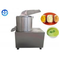 Buy cheap Stainless Steel Ginger Garlic Paste Machine Large Capacity 600-1000 kg/h from wholesalers