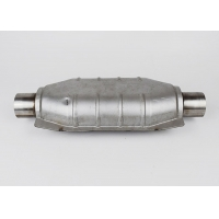 China Oval SS409 Car Catalytic Converter on sale