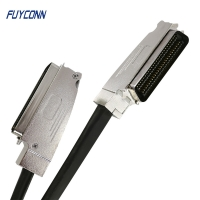 Cheap 100pos RJ21 Telco Trunk Cable Assembly One End With 2pcs Connector wholesale