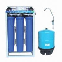 Cheap 5-stage RO Water Filter for Residential/Home Use, 400GPD Auto Flush wholesale