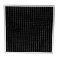 Cheap Pleated Pre Activated Carbon Air Filter Large Air Flow For Odor Removal wholesale
