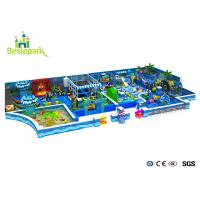 Cheap Customized Toddler Indoor Playground , Fun Play Indoor Playground With Galvanized Pipe wholesale