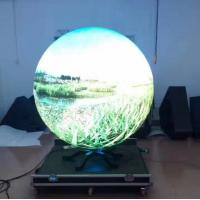 Cheap P4 SMD Curved Led Display High Definition Video Ball in the Museum wholesale