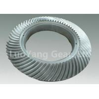 Cheap High Performance Alloy Steel CNC Spiral Bevel Gears , Helical Spur Gear wholesale