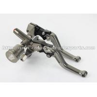 Cheap Front Left Right Motorcycle Brake Clutch Lever Brake Pump Racing Bike Spare Parts wholesale