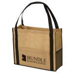 Cheap Customized Reusable Non Woven Handbag Laminated Bags Good Breathability wholesale