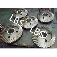 Cheap High Pressure Double Helical Gear Electric Water Pump Gearbox Parts Big Spiral Bevel Steel Material wholesale