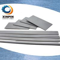 Cheap HRA89.5-94.0 Square Carbide Blanks With HIP Sintering to Enhance 30% Transverse Rupture Strength wholesale