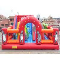 Cheap Bear Inflatable Theme Park Bounce House Gonflables Jumping Castle Digitial Printing wholesale