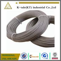 Cheap AISI 7x7 7x19 stainless steel wire rope wholesale