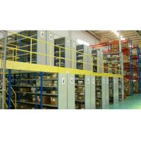 Buy cheap Steel Industrial Mezzanine Floor Systems Easy Install / Dismantle Large Load from wholesalers