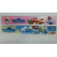 Cheap PLASTIC LENTICULAR Custom 3d lenticular ruler wholesales-pp pet 3d lenticular measuring ruler for gift wholesale