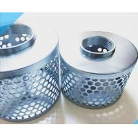 Cheap 1-8  steel Suction Tin Galvanezed Can Strainers stainless steel  Suction Filter Strainer wholesale