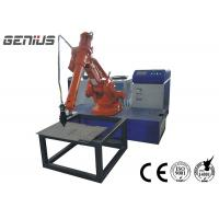 China Long Distance Laser Welding Robot Slim Wrist Handheld Terminal Control on sale