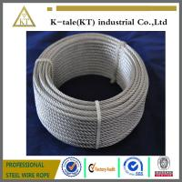 Cheap made in china 7x19 5mm galvanized aircraft cable with cheap price wholesale