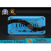 Cheap Gambling Products Plastic Bargaining Chip Shape For Entertainment Club wholesale