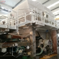 China 21*6*5m 510t 2400mm Toilet Paper Roll Making Machine on sale