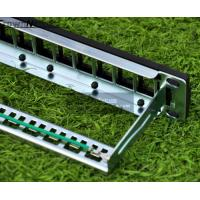 Cheap 12ports blank patch panel for cat.5e/cat.6 keystone modules 10 Inch Rack Mount Panel wholesale