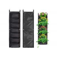 Cheap Vertical Hanging Wall Felt Garden Planter With Roomy Pockets For Herbs Or Flowers wholesale