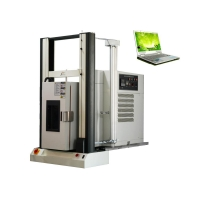 Cheap Temperature Humidity Controlled tensile test apparatus - 60℃ ~ 150℃ PC Servo force testing machine wholesale