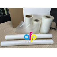 Cheap PET Polyester Roll Laminating Film SGS Approval Double Side Corona Treatment wholesale