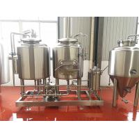 Buy cheap 200L Microbrewery Equipment Electrical Heated Commercial Brewing Equipment from wholesalers