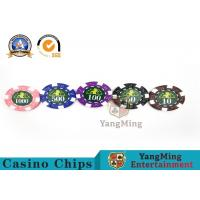 Cheap Professional Casino 760 Custom Deluxe Poker Chip Set With Aluminum Alloy Case wholesale