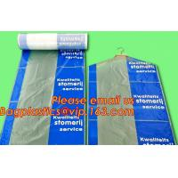 Cheap Garment Cover Clear Dry Plastic Laundry Bags Disposable Garment Custom Poly wholesale