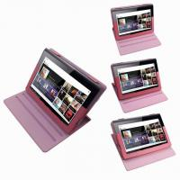 Quality 10inch S1 Sony Tablet Case Cover , Lychee Leather 360 Degree Rotating Case for sale