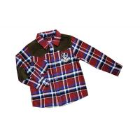 Cheap Fathion Red, Black, Green Lapel 4 - 15 Year Kids Plaid Shirts, check printing shirts wholesale