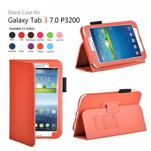 Cheap Orange Samsung Galaxy Tab Protective Case With Auto Wake Up / Sleep wholesale