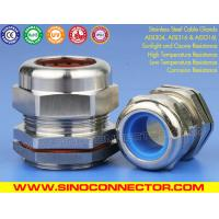 IP68 Stainless Steel Cable Gland Grade SS304/SS316/SS316L with Silicone Rubber Seals