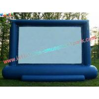 Cheap Professional Projection Inflatable Movie Home Theater Screens , Backyard Cinema wholesale