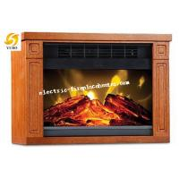 Cheap Bedroom Square Mini Remote Control Electric Fireplace Stove 1200W 20-30m2 wholesale