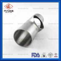 Cheap Welding End Sanitary Weld Fittings  Short Equal Sanitary Instrument Tee wholesale
