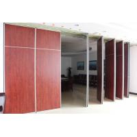 Buy cheap Conference Room Commercial Cheap Folding Partition Doors Movable Walls from wholesalers