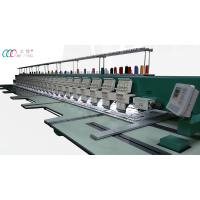 Cheap 9 Needles 24 Heads High Speed Intelligent Computerized Embroidery Machine , 1000 RPM wholesale