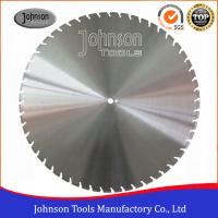 Cheap 900mm Laser Welded Diamond Road Saw Blade for Floor Saw , Petrol Cutters wholesale