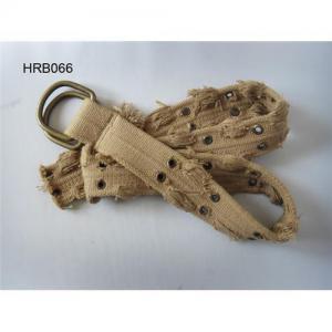 Cotton belt, canvas belt, china woven belt