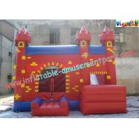 Cheap Durable Inflatable Bouncer Slide , Fun PVC Tarpaulin Combo Jumpers For Toddlers Playing wholesale